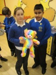 Here's Arty Our Y5H mascot we decided to chose him because in our class we are excellent at arts and craft!