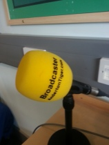 One of the microphones we used.