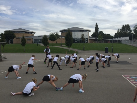 Y3R Cross Country Warm up