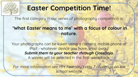 Easter photography competition